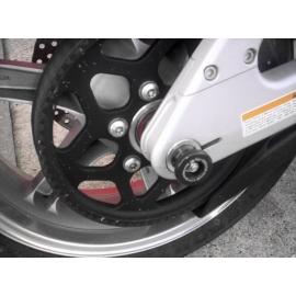 Chrániče osy zadního kola, Buell XB9-R/XB12-R/XB9-S/XB12-S/XB12-X/Ulysses, černé