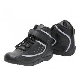 Cestovní moto boty Spark Urban, černé - 36