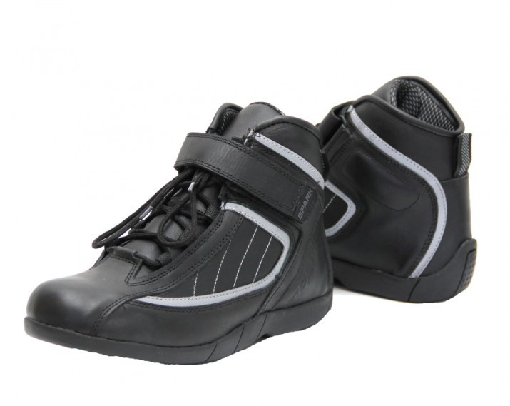 Cestovní moto boty Spark Urban, černé