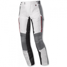 Pánské motocyklové kalhoty Held TORNO - prodloužená délka, šedá/červená, GORE-TEX, textilní