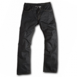 Moto kalhoty ROKKER ROKKSTAR (délka 36) černé + dárek triko Rokker