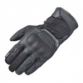 Letní moto rukavice Held DESERT 2 černá, kůže/textil