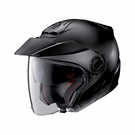 Moto helma Nolan N40-5 Classic N-Com Flat Black 10