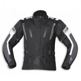 Pánská moto bunda Held 4-TOURING Reissa černá/šedá