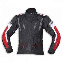 Pánská moto bunda Held 4-TOURING Reissa černá/červená