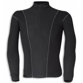Pánské termoaktivní triko HELD, dlouhý rukáv, černé, Polartec