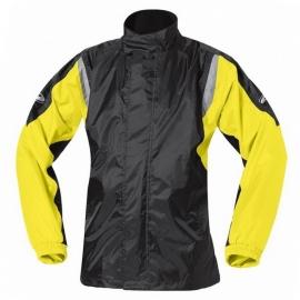 Nepromokavá moto bunda Held MISTRAL II černá/fluo žlutá