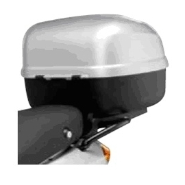 Horní kufr 33 stříbrný - Piaggio FLY 50/100/125/150