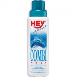 Čistící prostředek (šampón) Hey sport COMBI WASH pro hladkou kůži 250ml