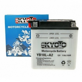 Baterie KYOTO 12V 11Ah  YB10L-A2 (dodáváno bez kyselinové náplně)