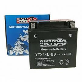 Baterie KYOTO 12V 12Ah  YTX14L-BS (dodáváno s kyselinovou náplní)