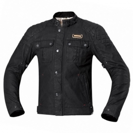 Pánská motocyklová bunda Held SIXTY SIX černá (voděodolná)