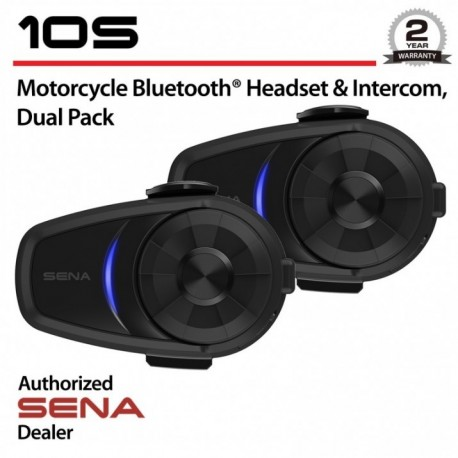Interkom Sena Bluetooth 10S Dual Kit