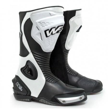 Sportovní pánské moto boty W2 Adria, bílé