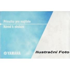 Návod k obsluze sněžného skútru YAMAHA V-MAX, český