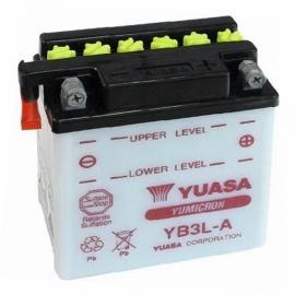 Baterie YUASA 12V 3Ah YB3L-A (dodáváno bez kyselinové náplně)