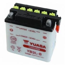 Baterie YUASA 12V 3Ah YB3L-B (dodáváno bez kyselinové náplně)