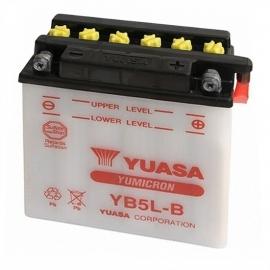Baterie YUASA 12V 5Ah YB5L-B (dodáváno bez kyselinové náplně)