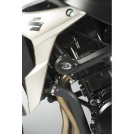 Aero padací chrániče RG Racing pro motocykly SUZUKI GSR750 ('11), černé