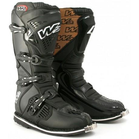 Krosové pánské moto boty W2 E-MX6, černé