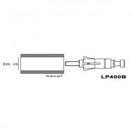Adaptér RIZOMA Proguard system ochranné páčky nebo zrcátka - univerzální 20-23mm a pro motocykly HARLEY DAVIDSON