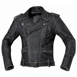Pánská motocyklová bunda Held HOT ROAD černá, kůže