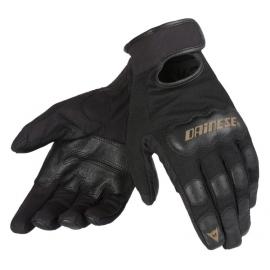 Pánské rukavice na motorku Dainese DOUBLE DOWN UNISEX černá (pár)