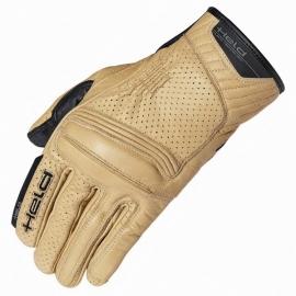 Letní motocyklové rukavice Held RODNEY natur, kůže (CoolMax)