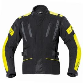 Dámská moto bunda Held 4-TOURING Reissa černá/fluo žlutá