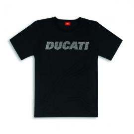 Pánské tričko Ducati Carbon černé