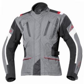 Pánská moto bunda Held 4-TOURING Reissa šedá/černá