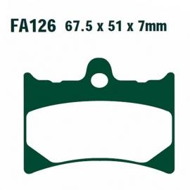 Brzdové destičky EBC FA 126 (OEM *AP8113489/GU30654631*)