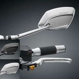 Zpětné zrcátko Rizoma 4D univerzální, E-mark - PRAVÉ pro motocykly