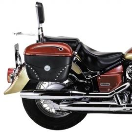 CL 705 Trubkový nosič bočních kufrů pro motocykly YAMAHA XVS650, chrom