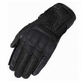 Letní moto rukavice Held DESERT černá, kůže/textil (pár)