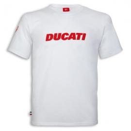 Pánské tričko Ducati Ducatiana 2 bílé