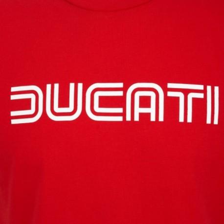 Pánské tričko Ducati Ducatiana 80s červené