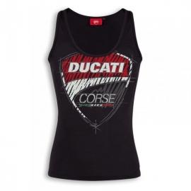 Dámské tílko Ducati Corse Sketch černé