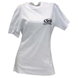 Triko ARAI bílé, krátký rukáv