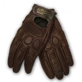 Moto rukavice Dainese BLACKJACK UNISEX hnědá, kozí kůže