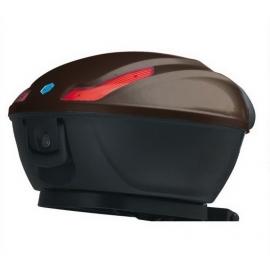 Horní kufr 48 hnědý - Piaggio MP3 Business