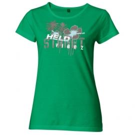 Dámské triko Held STREET zelené
