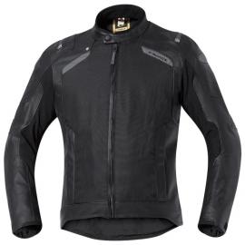 Pánská gore-tex moto bunda Held CAMARIS černá, CoolMax textil/kůže