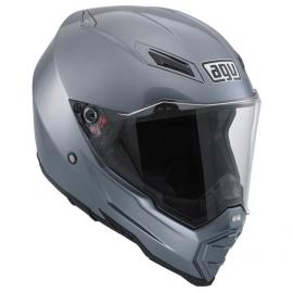 AGV Off-road/on-road moto přilba AX-8 EVO NAKED titanová šedá
