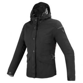 Dámská skútr bunda Dainese ELYSEE D-DRY LADY černá, textilní