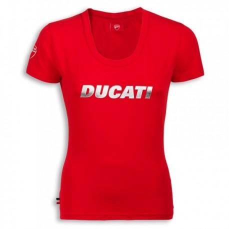 Dámské tričko Ducati Ducatiana červené