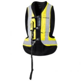 Moto Airbag vesta Held AIR VEST černá/fluo žlutá (rozšířený pas)
