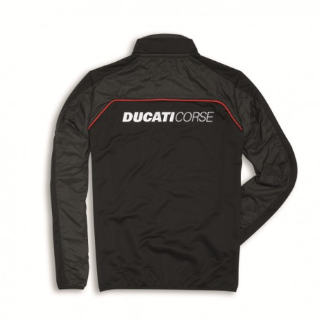 Pánská fleecová mikina Ducati Corse Speed černá