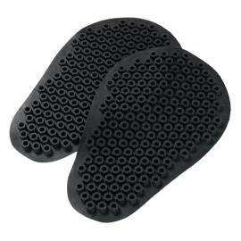 DAINESE KIT PRO SHAPE měkké CE moto chrániče kolen nebo loktů, černé (sada)