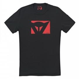 Pánské triko s krátkým rukávem Dainese COLOR NEW černá/červená